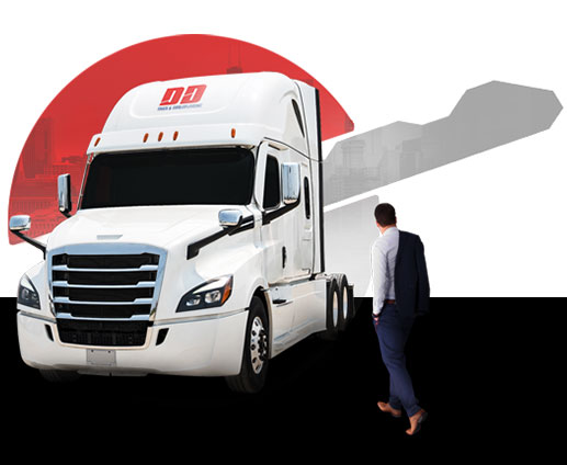 Truck and Trailer Leasing Banner